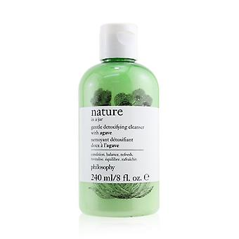 Nature In A Jar Gentle Detoxifying Cleanser With Agave - 240ml/8oz
