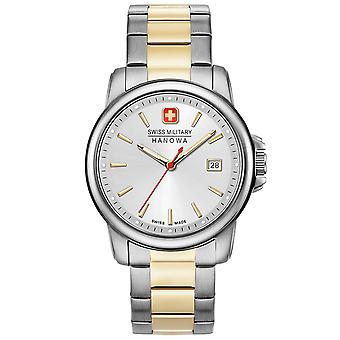 Mens Watch Swiss Military Hanowa 06-5230.7.55.001, Quartzo, 39mm, 5ATM