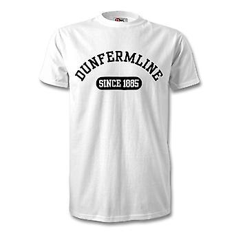 Dunfermline Athletic 1885 estableció camiseta de fútbol