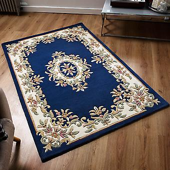 Tapis d'Aubusson Royal en bleu
