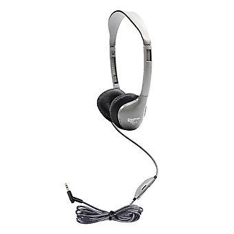 Persönliche Stereo/Mono Kopfhörer mit Leatherette Ohrpolster, mit Lautstärkeregelung