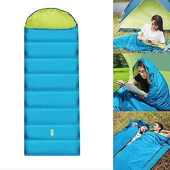 Зенд HW050201 Портативный спальный мешок Семь отверстий Хлопок Одноместный сон Pad с Cap Открытый кемпинг сюда