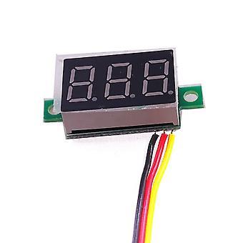 3-bitars digital led-display, panelspänning, mätartestare
