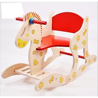 Wooden Rocking Horse, Baby Puzzle Toy, Stool, Chair, Furniture