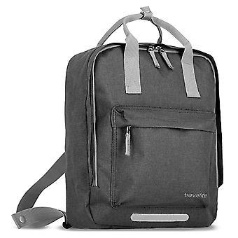 travelite Basics Griff-Rucksack 40 cm, Grau