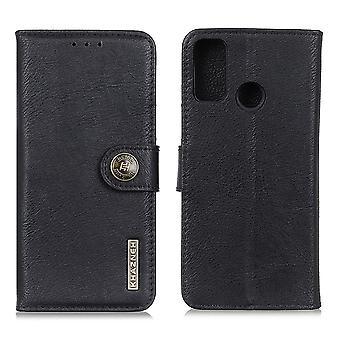 Custodia portafoglio KHAZNEH Motorola Moto G30 - Nero
