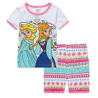 Deti Princezná Séria pyžamové súpravy ( Sada 1)