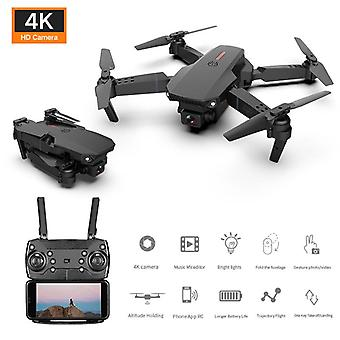 2021 New mini drone 4k 1080p hd camera wifi foldable quadcopter rc drone toy e88