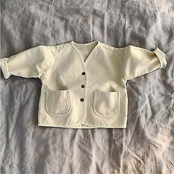 Veste bébé et denim, manteau en denim pour enfants