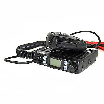 CB CRT One radio station kit with S-Meter, 4W, ASQ, 12V, RF Gain, SWR meter, Scan + Extra PNI Antenna 48