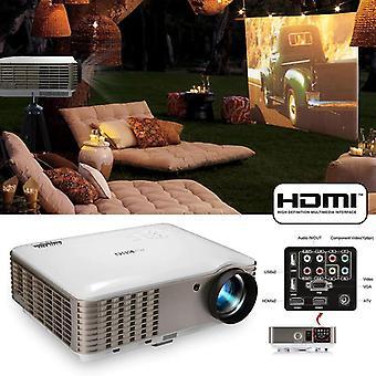 LED-projector 1280 * 800P ondersteuning 1080P draagbaar