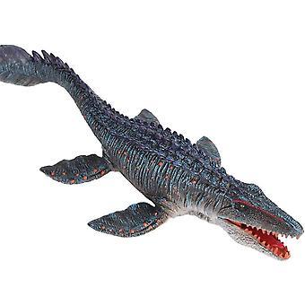 FengChun Realistische Tier Figuren Mosasaurus SolidSea Tier Spielzeug, Wissenschaft Projekt, Kuchen