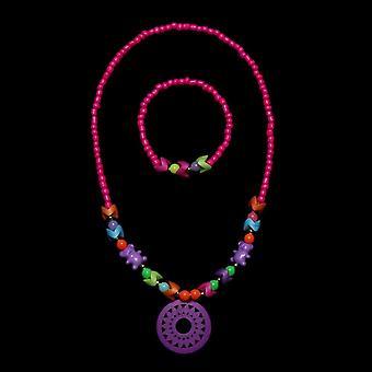 Ожерелье-браслет бабочки Цветы Baby ручной работы Ожерелье Аксессуары.