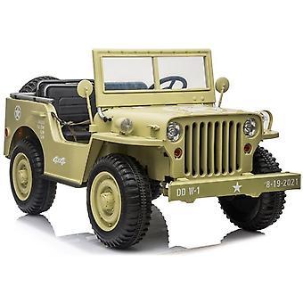 Masina electrica pentru copii Double Offroad - Jeep - 2.4G - Willy's