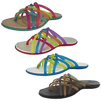 Crocs Womens Huarache Flip Flop Sandal Shoes