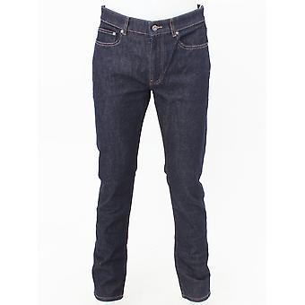 Lacoste Slim Fit Tapered Jeans - Dark Denim