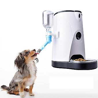 Pet Feeder Water Dispenser, Wifi Remote Control, Support Recording, Automatic