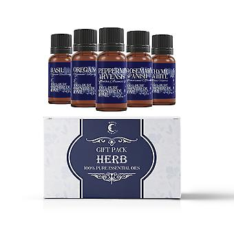 Mystic Moments Herb Essential Oils Gift Starter Pack