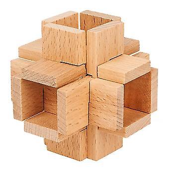 Klassisches iq Holzpuzzle Spielzeug dt7456