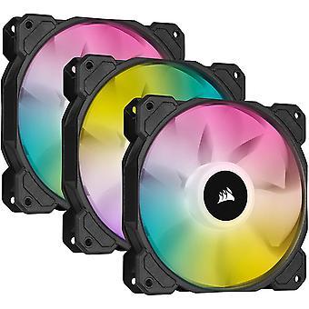 Corsair iCUE SP120 RGB Elite 120mm High Performance Addressable RGB Triple Fan Pack (CO-9050109-WW)