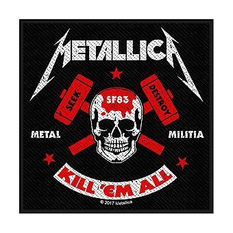 Metallica - Metal Milits Standard Patch