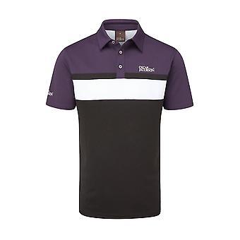 Oscar Jacobson Mens Polo Shirt Short Sleeve Performance Sports Breathable Top