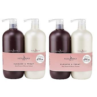 Neal & Wolf Cleans & Treat Ritual Shampoo & Harmony Treatment