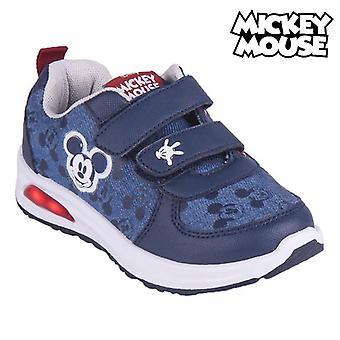Entrenadores LED Mickey Mouse Azul