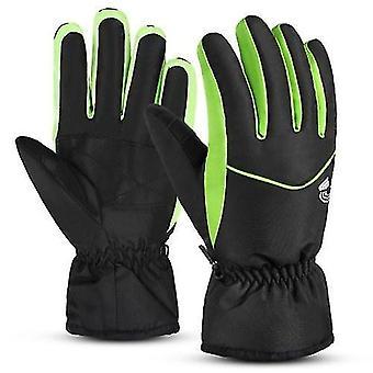 Gloves mittens men women ski gloves water-resistant breathable outdoor winter warm snow sports snowboard gloves