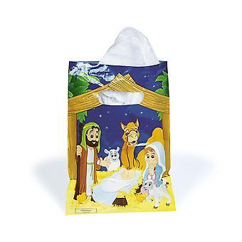 LAST FEW - 36 Nativity Party Favour Bags - Christian Christmas