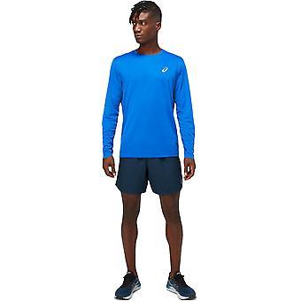 Asics Herre Core langærmet Kører Top Performance Sports T-Shirt T Shirt Tee