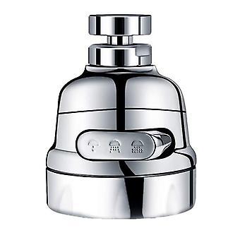 Robinet de cuisine Aérateur Filtre de robinet 360¡ã Adaptateur rotatif anti-éclaboussures