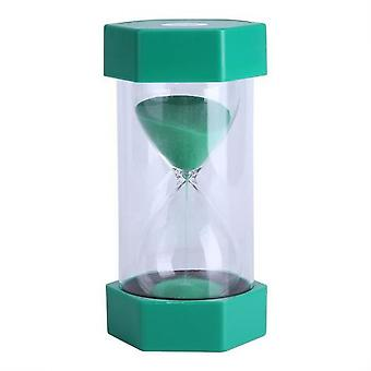 Hourglass Creative Hourglass Minutes Timer Clock Home Office Decor Gift 10 Minutes Green Hen