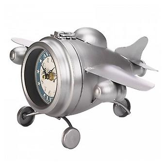 Accent Plus Vintage-Look Desk Clock - Aviation Club Jet, Pack of 1