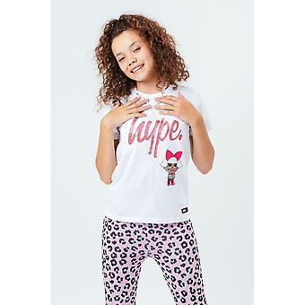 Hype Childrens/Kids Leopard Diva LOL Surprise T-Shirt