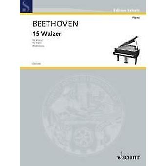 15 Waltzes Beethoven, Ludwig van piano