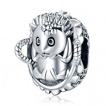 Sterling Silber Charm Igelbaby - 7159