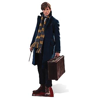 Newt Scamander from Fantastic Beasts and Where to Find Them Lifesize Cardboard Cutout / Standee / Stand Up
