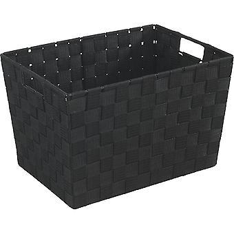 Laundry baskets adria 19884100 bathroom basket medium black