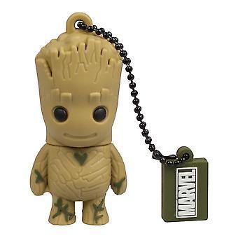 Marvel Guardians of the Galaxy Groot USB Stick 32 GB, 2.0 USB Flash Drive, Gift Idea 3D Figure,