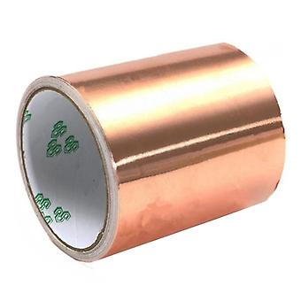 100mmx5m Pure Copper Roll Emi Conductive Guitar Shielding Ribbon