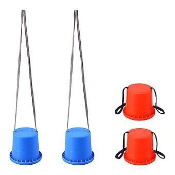 2 Paare Stelzen Spielzeug sensorische Training Stilen Kid Balance Fähigkeit Entwicklung Spielzeug