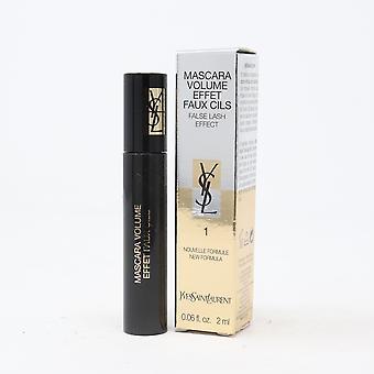 Yves Saint Laurent False Lash Effect Mascara 1 Black 0.06oz/2ml New With Box