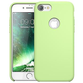 Caso, i-Blason-Silicone da iPhone 7 [flexível] caso Shock Absorbing-verde
