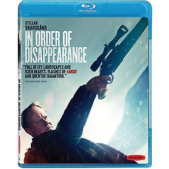 In Order of Disappearance [Blu-ray] USA import
