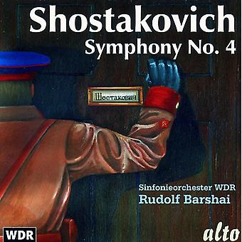 D. Chostakovitch - Chostakovitch: Symphonie n ° 4 [CD] USA import