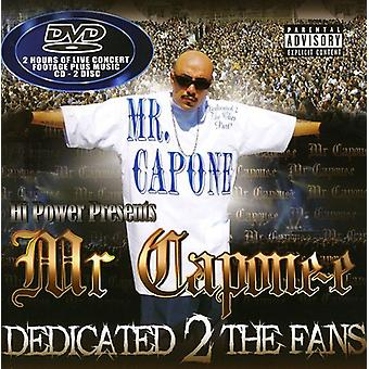Mr. Capone-E - Dedicated 2 the Fans [CD] USA import