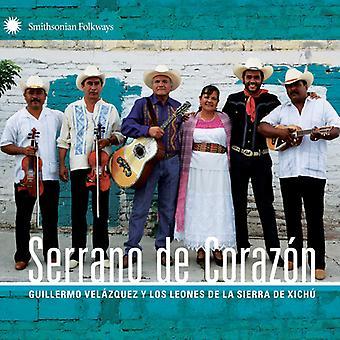 Velazquez, Guillermo Y Los Leones De La - Serrano De Corazon [CD] EUA importação
