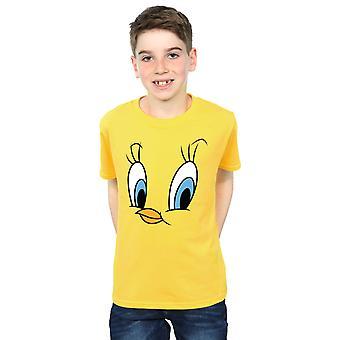 Looney Tunes Boys Tweety Pie Face T-Shirt