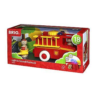 Brio My Home Town - camion dei pompieri